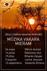 Mūzika vakara mieram ar Šablovsku duo @ Mazmežotnes muižas pasākumu stallis    Mazmežotne   Latvija